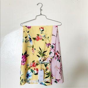 Bershka floral culottes
